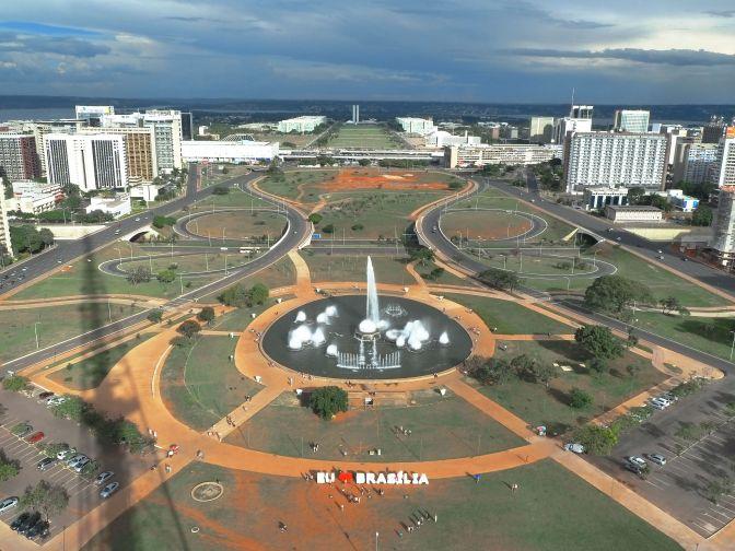 brasilia vista da torre de tv