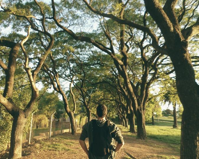 Desbravador no Parque Rodó
