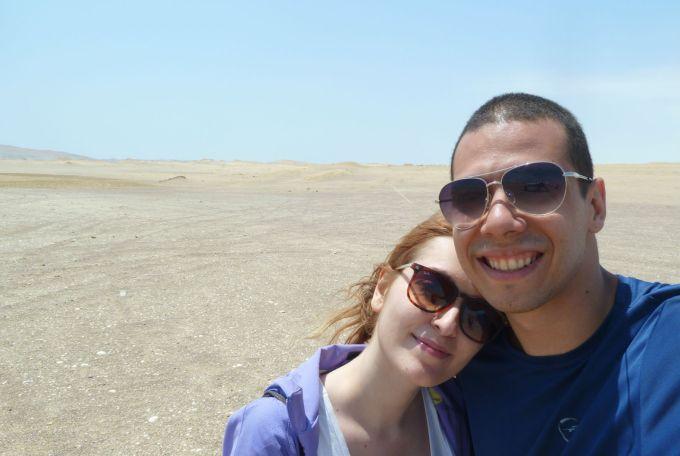fazendo hora no deserto de paracas