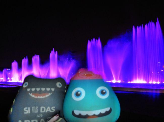 Gusmon y Raul en Circuito magico das aguas
