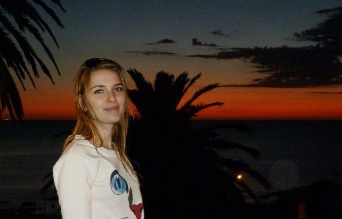 puesta del sol en montevideo