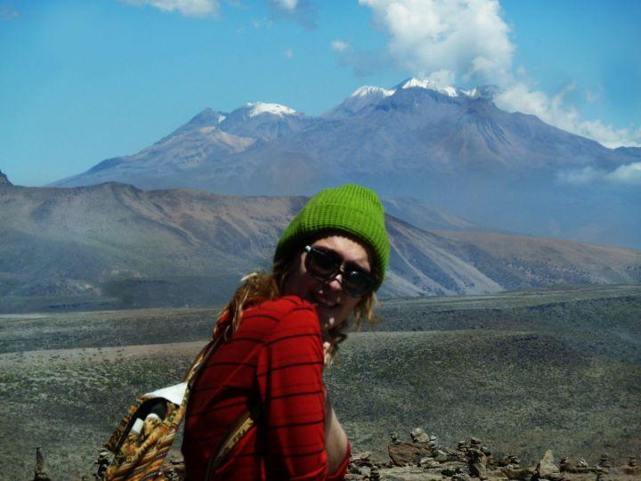 Vulcão no Valle del Colca