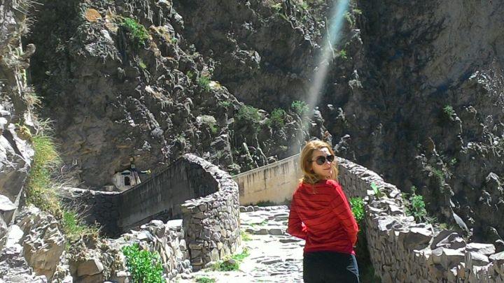 Solzinho no Valle del Colca