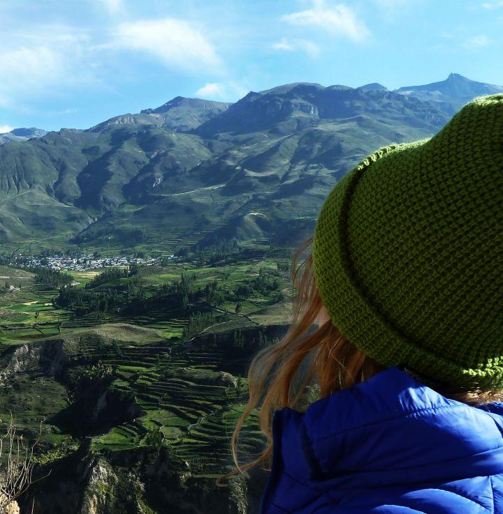 O Valle del Colca é lindo demais
