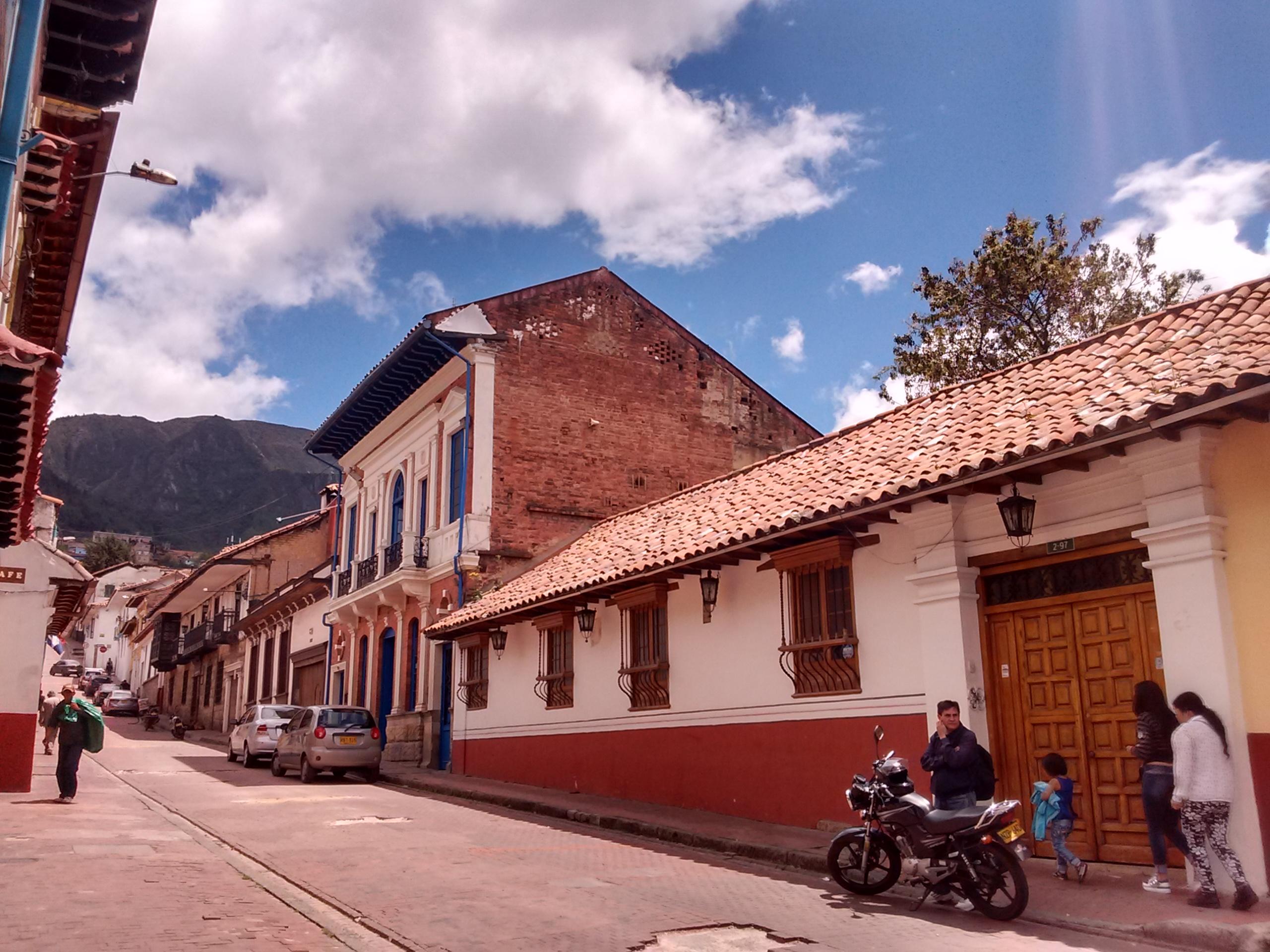 La Candelaria em Bogotá