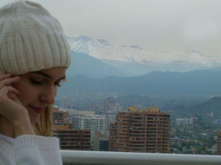 Santiago de Chile no inverno