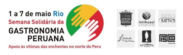 semana solidária de gastronomia peruana