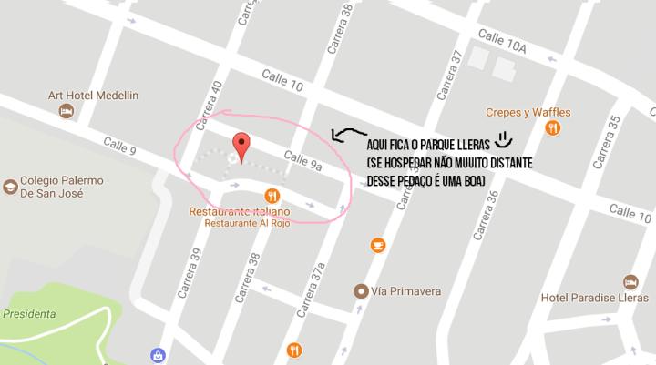 Parque Lleras Medellin Onde se hospedar.png