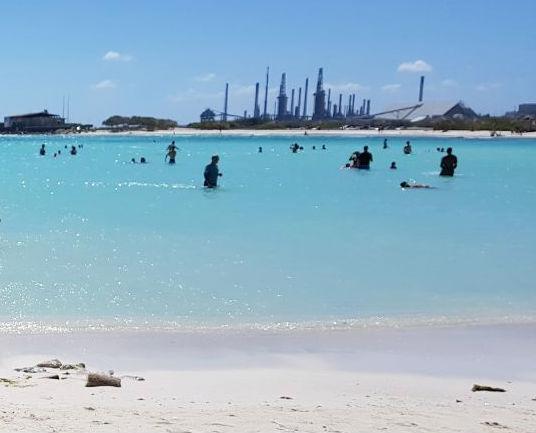 baby beach san nicolas onde se hospedar aruba