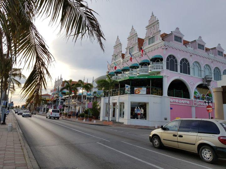 oranjestad centro o melhor lugar para compras o que fazer em aruba
