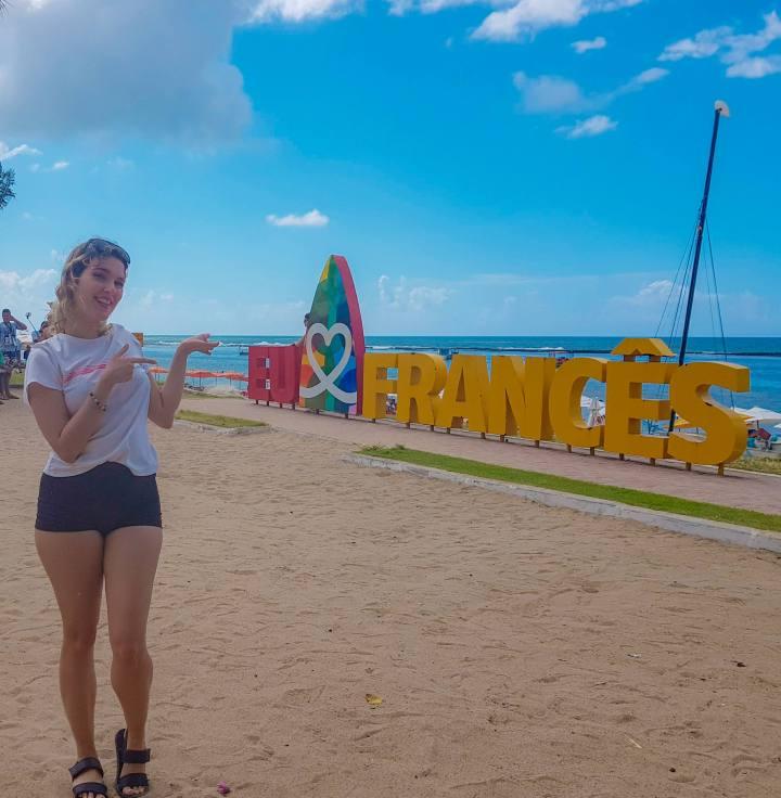 Praia do francês, uma das praias preferidas de Alagoas