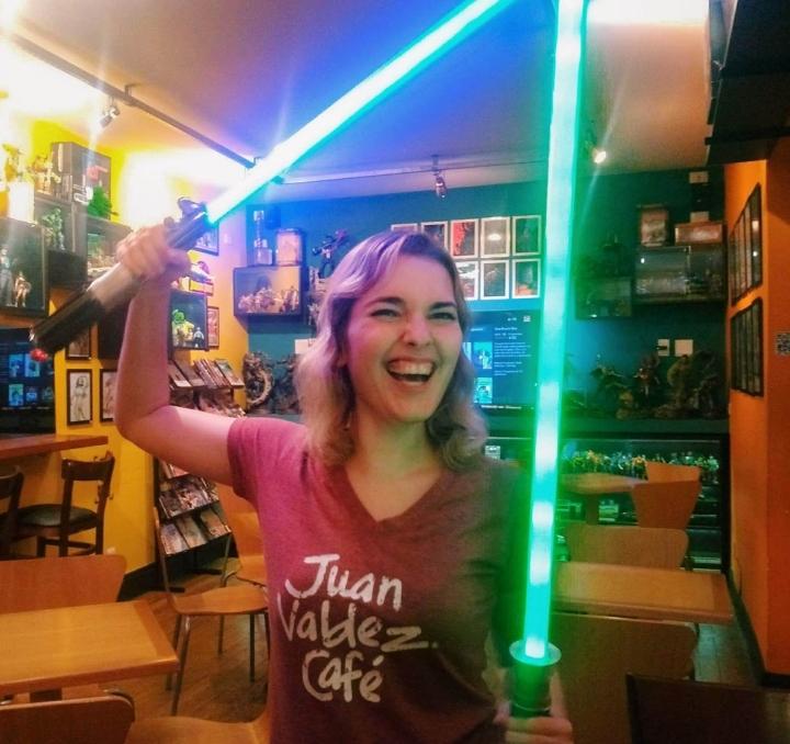 Gibi Cultura Geek, uma das muitas lanchonetes nerds em São Paulo