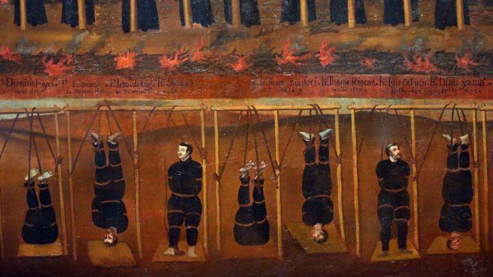 perseguição ao cristãos durante xogunato tokugawa